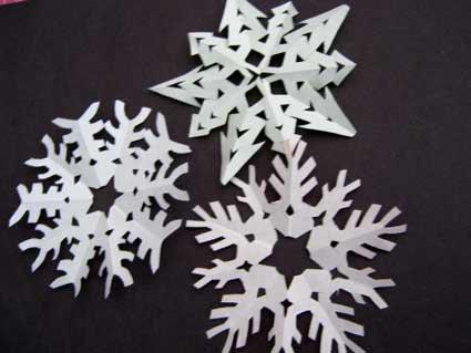 ハート 折り紙 折り紙で雪の結晶 : setumei.net
