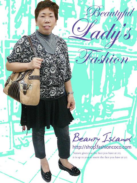 50代 レディースファッション ミセスファッション