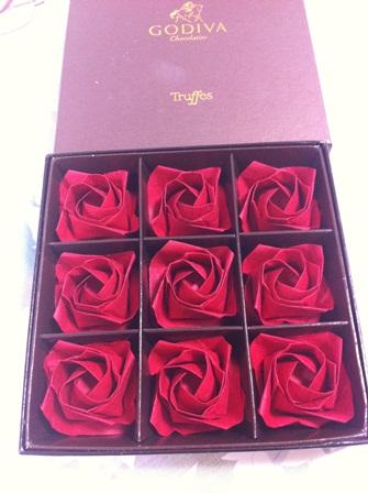 ハート 折り紙:薔薇の折り紙-flossa.ti-da.net