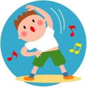 ラジオ体操 ♪:名護市 宇茂佐の ... : ラジオ体操 絵 : すべての講義