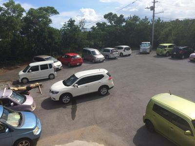 20140823駐車場全体