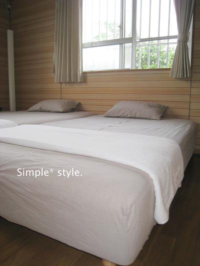 無印良品の脚付きマットレスベッド!