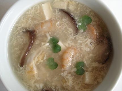 干しえびのスープ