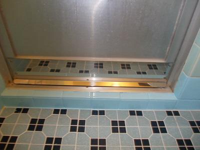 クリーンプラネット 浴室ドア水切り取付