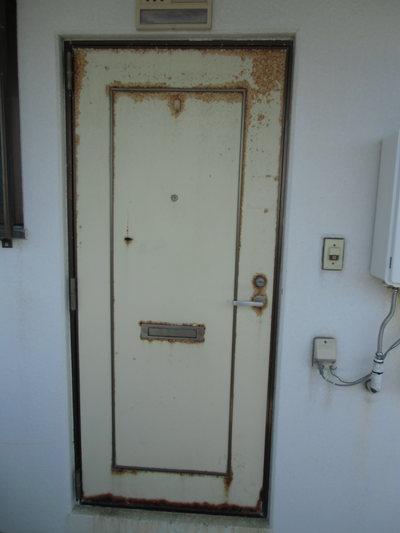クリーンプラネット 玄関ドア取替