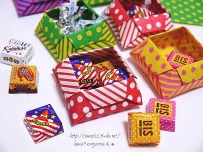 ハート 折り紙 折り紙 可愛い箱 : matome.naver.jp