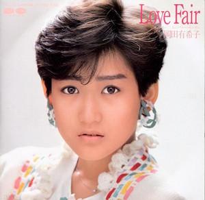 岡田有希子の「Love Fair」ジャケット