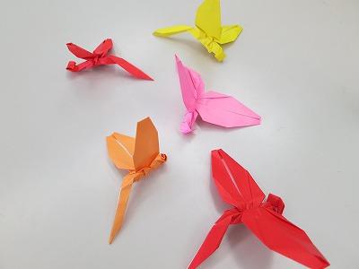 飛行機 折り紙:折り紙 トンボ-yamasukigenntyann.ti-da.net